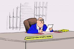 innovation stops here
