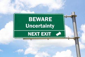 beware - uncertainty